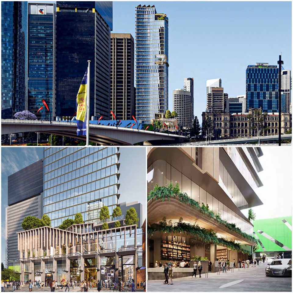 ▲ The proposal for the prominent corner site  includes a retail laneway and improved pedestrian connection to the site. Image: Blight Rayner
