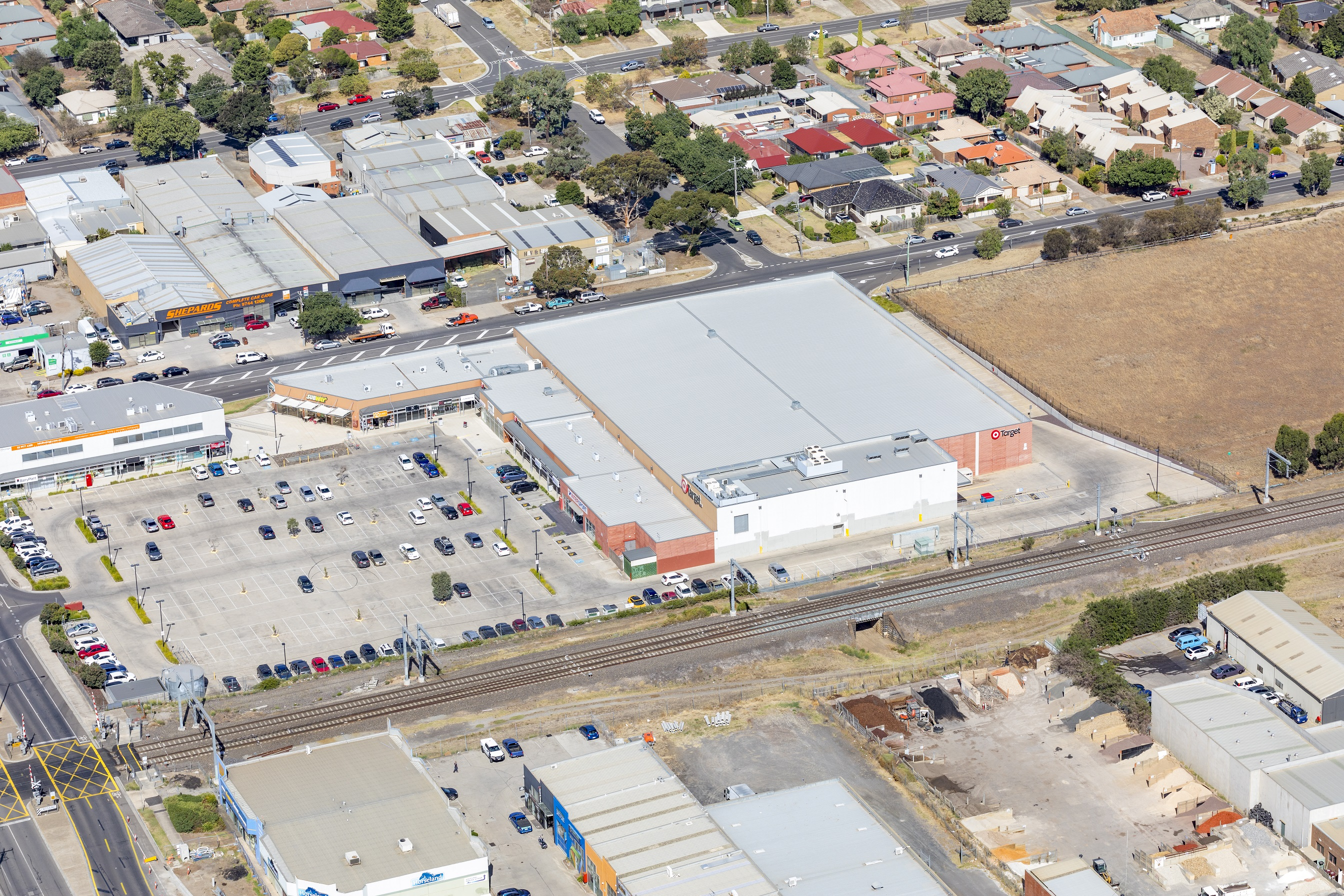 Target in Sunbury is avaliable via an international expressions-of-interest campaign.