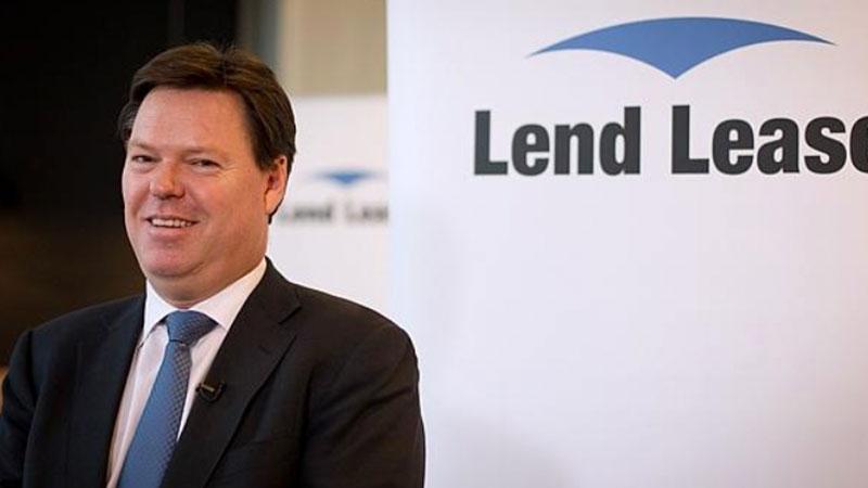 Lendlease chief executive Steve McCann