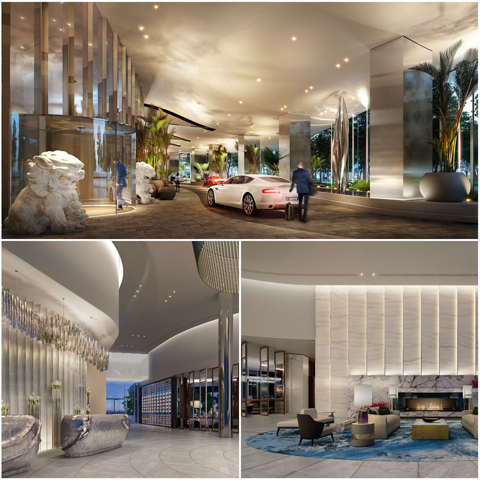 A first look inside Crown Towers Sydney Lobby