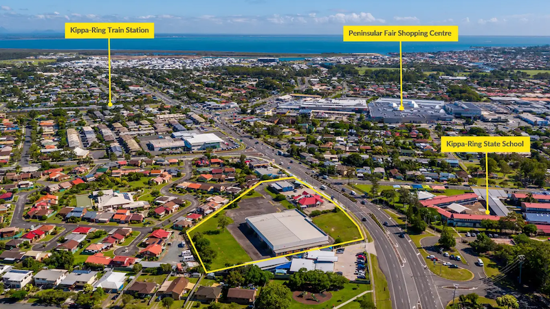 ▲ A prime development opportunity for two adjoining freehold sites along a busy arterial road has hit the market.