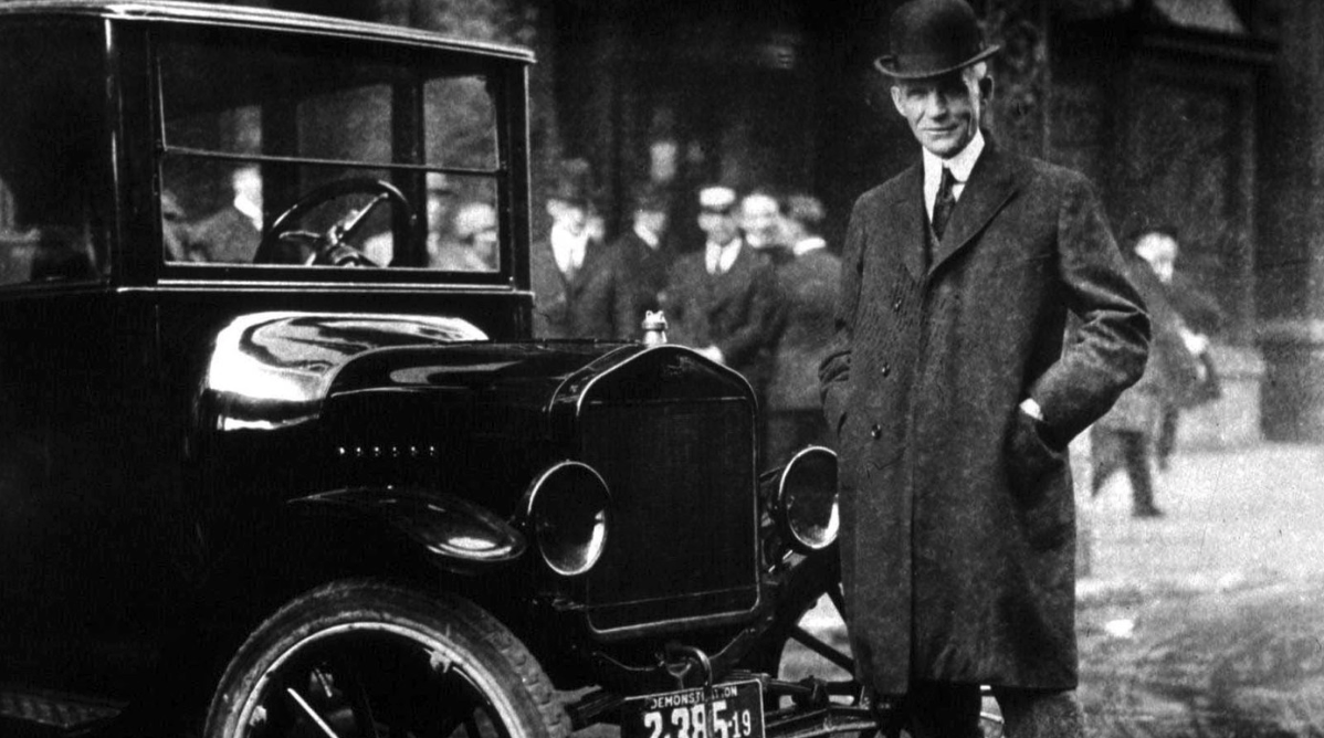 Henry Ford was teased for the above statement.