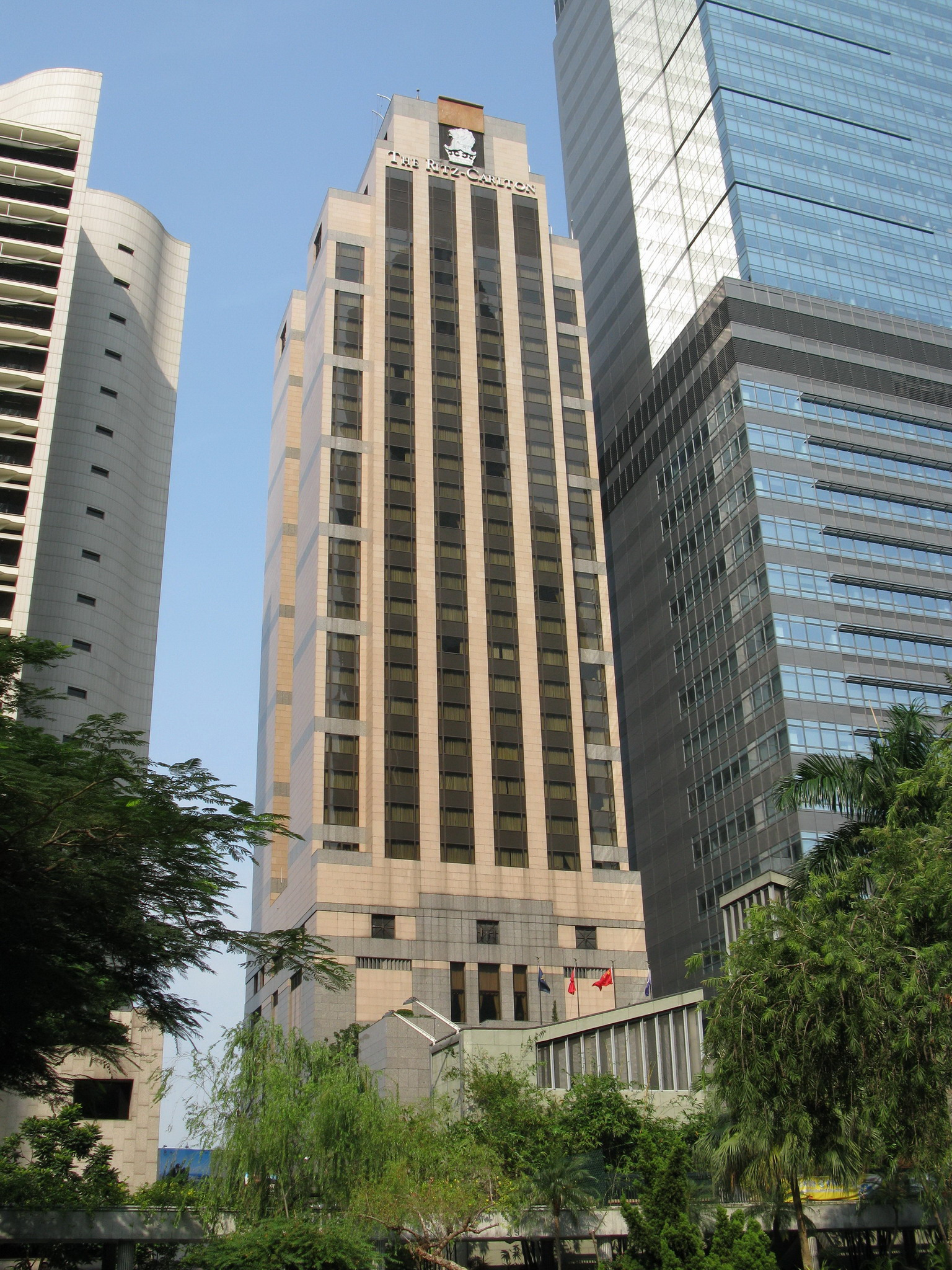 The 31-storey Ritz-Carlton was completed in 1993.