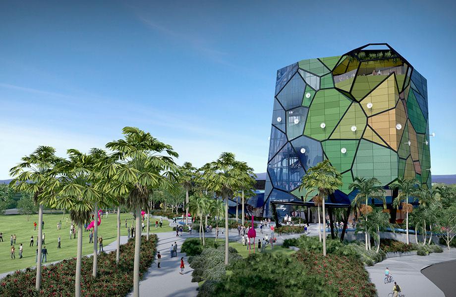 Artist impressions of Gold Coast Art Gallery HOTA
