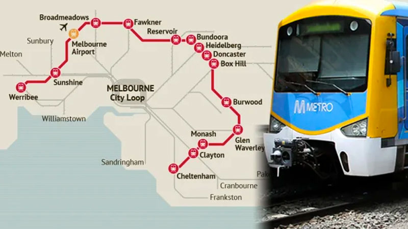 ▲ The project is designed to meet the chief complaint of many Melburnians that rapid population growth is straining existing infrastructure to breaking point.