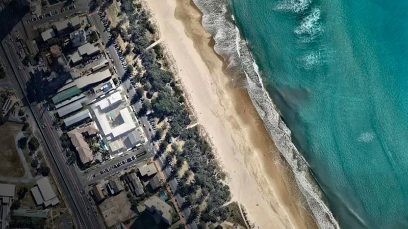 ▲ The 4,039sq m site, amalgamated by Nielson Properties and Chris Vitale, boasts 80 metres of beach frontage.