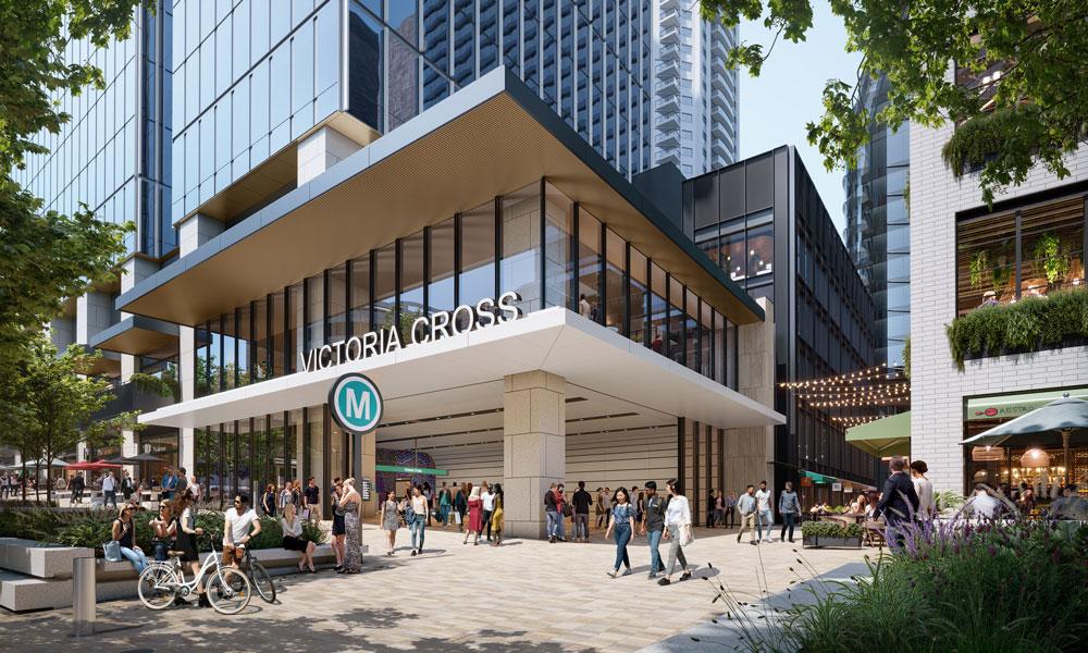 $1.2bn Victoria Cross Development Under Way