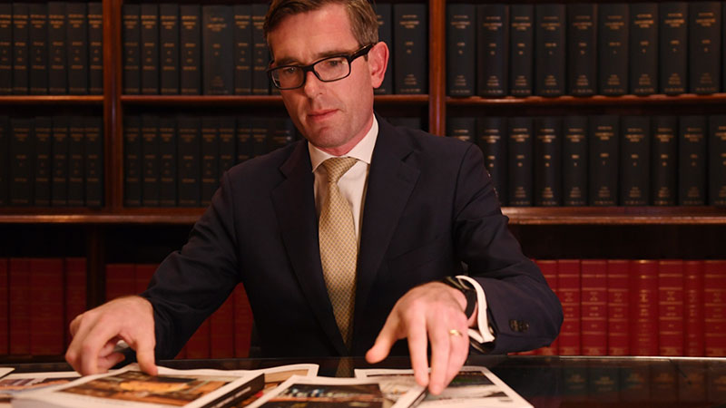 NSW state Treasurer Dominic Perrottet