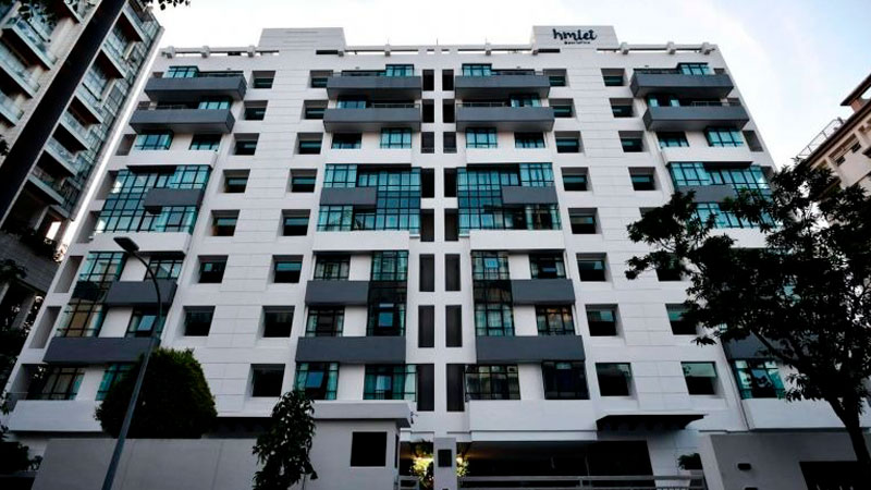 ▲Hmlet is launching a 150-room property in Singapore, its largest property to date.