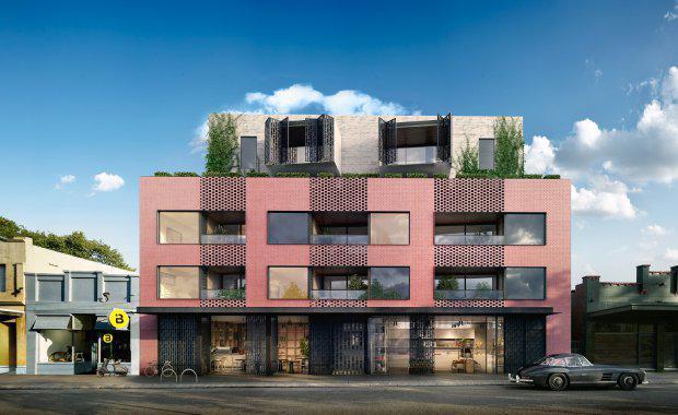 Grocon's Greenwich Fairfield developmentSpecialist Disability Accommodation