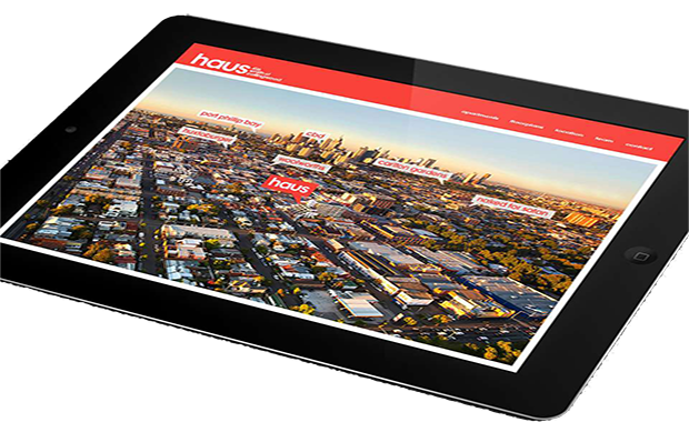 haus-collingwood-website-on-tablet
