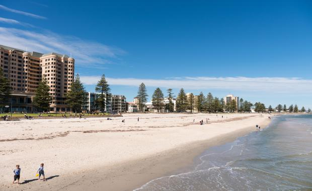 Glenelg beach, Adelaide, South Australia