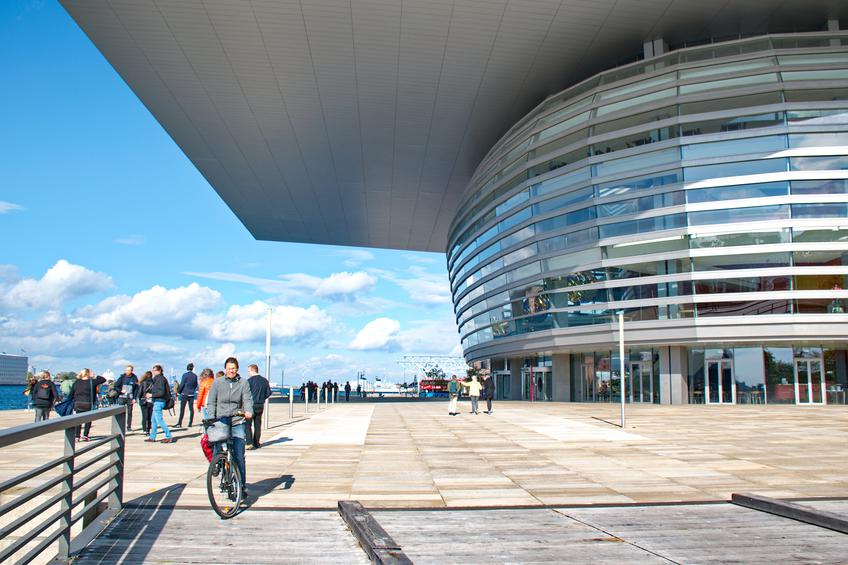 The Copenhagen Opera House,