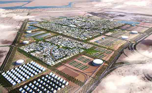World First Zero Carbon City Built By Oil Nation