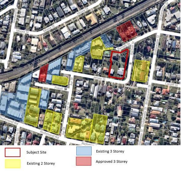 Surrounding approved and proposed developments