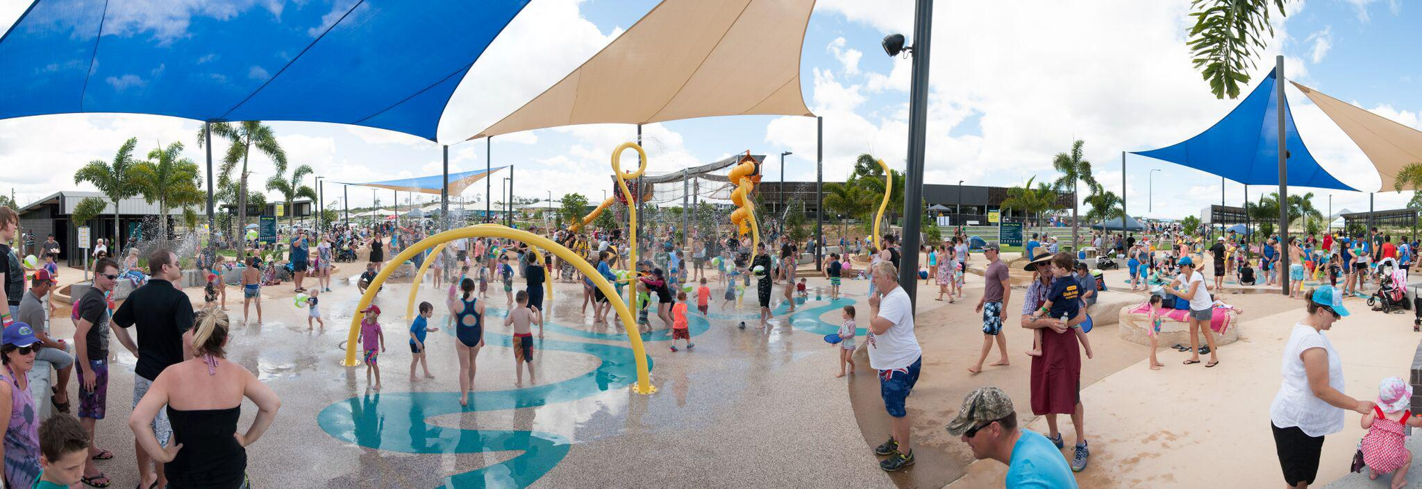 The Splash'n'Play water park at Providence